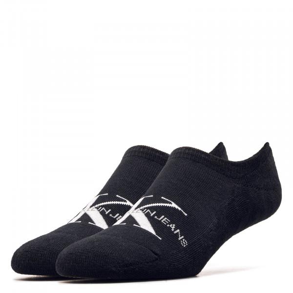 Socken Liner 1869 Black White