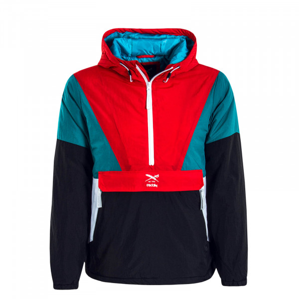 Herren Windbreaker Get Down Petrol Red
