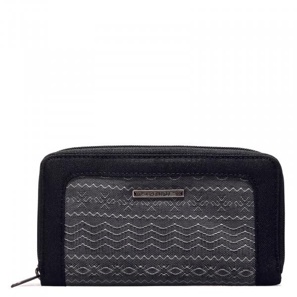 Wallet - Lumen DLX Hoxton - Grey Black