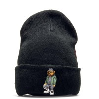 C&S Beanie Siggi Smallz Old School Black