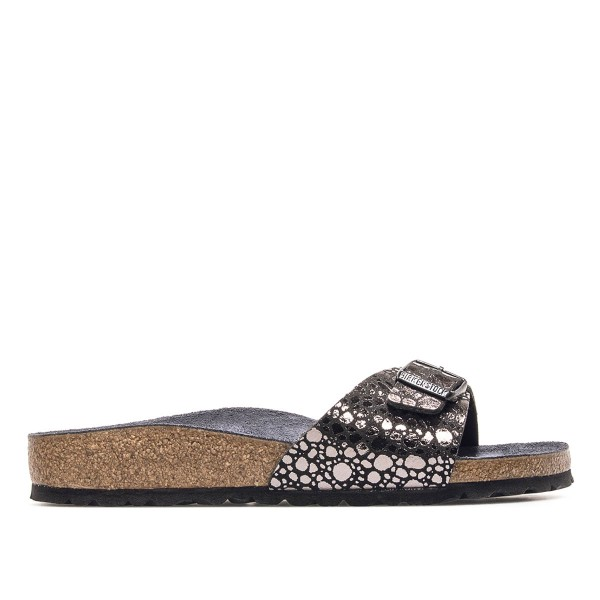 Birkenstock Wmn Madrid BF Metallic Black