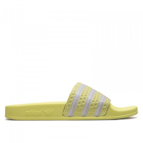 Damen Adilette  EG5005 Yellow White
