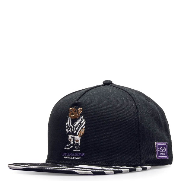 Cayler&Sons Cap Purple Swag Black