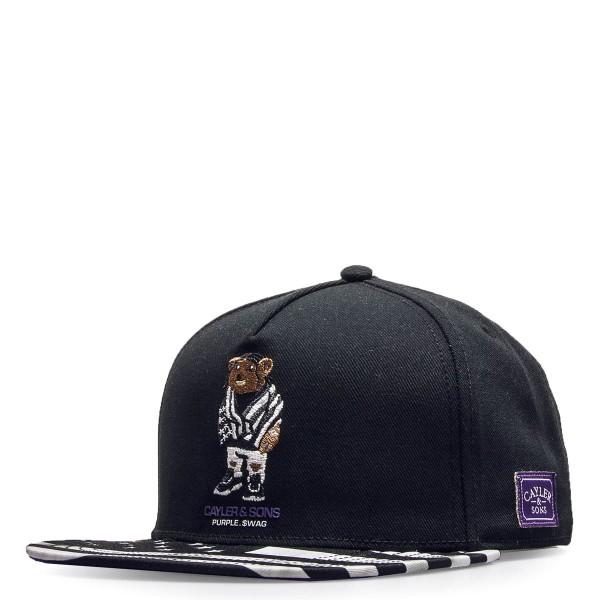 Cayler&Sons Cap Purple Swag Black