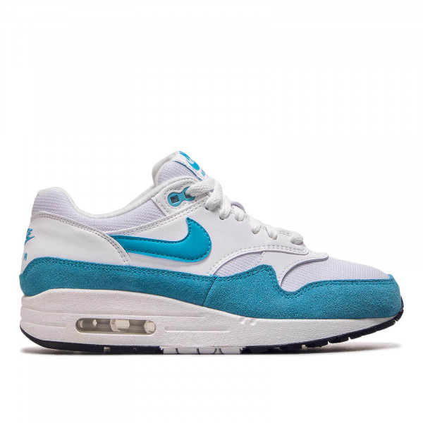 Damen Sneaker Air Max 1 White Blue Fury