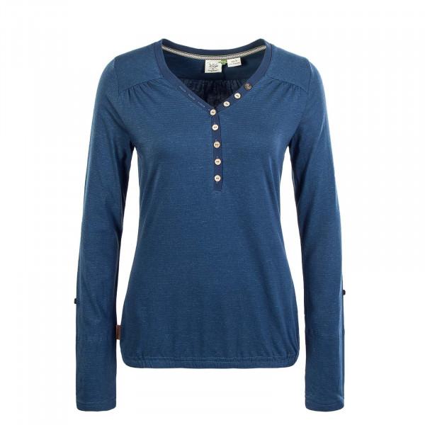 Damen Longsleeve - Pinch Organic - Denim Blue