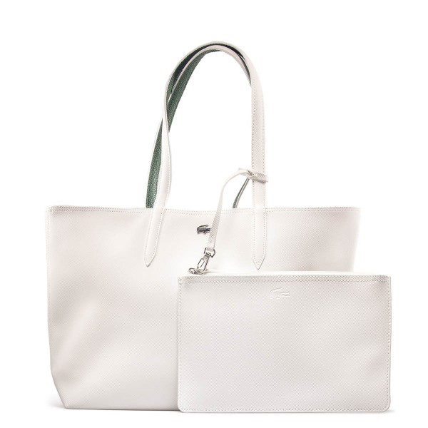 Lacoste Shopping Bag Snow Greener White