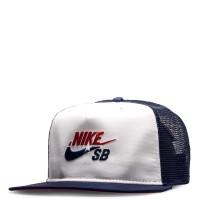 Nike SB Cap Pro White Navy