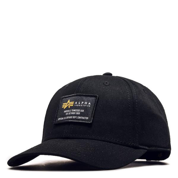 Basecap Crew Cap Black