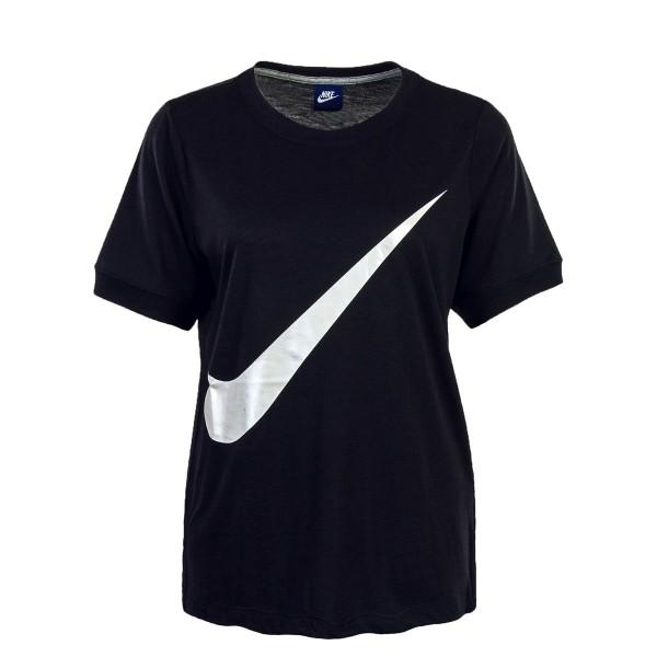 Nike Wmn TS NSW SS Prep Black White