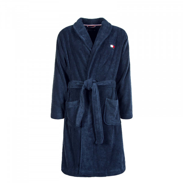 Bademantel 1781 Towelling Robe Navy