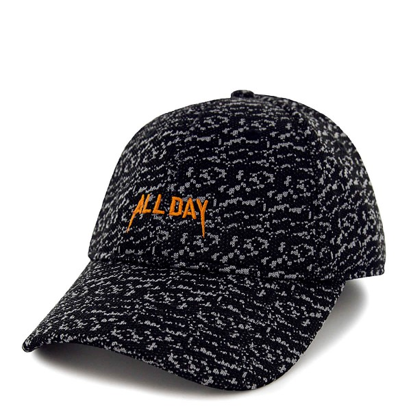 C&S Cap All Day Grey Black Orange