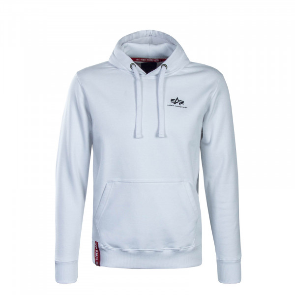 Alpha Hoody Basic Small White