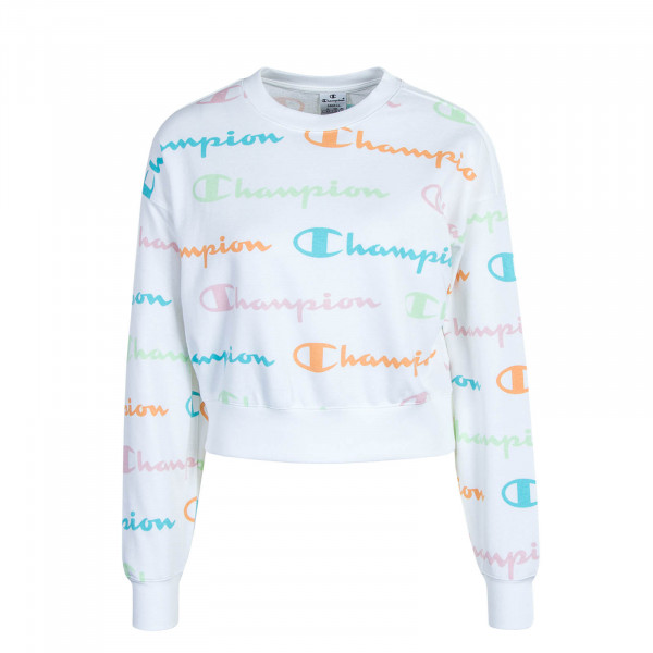 Damen Sweatshirt 112619 White Multi