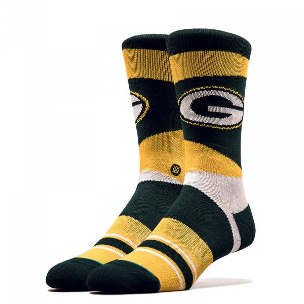 Unisex Socken NFL Packers Green Yellow