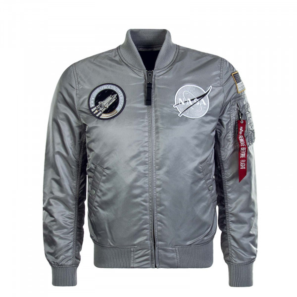 Herrenjacke Ma 1 VF Nasa Silver