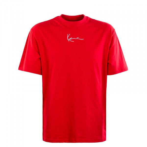 Herren T-Shirt - Small Signature - Red