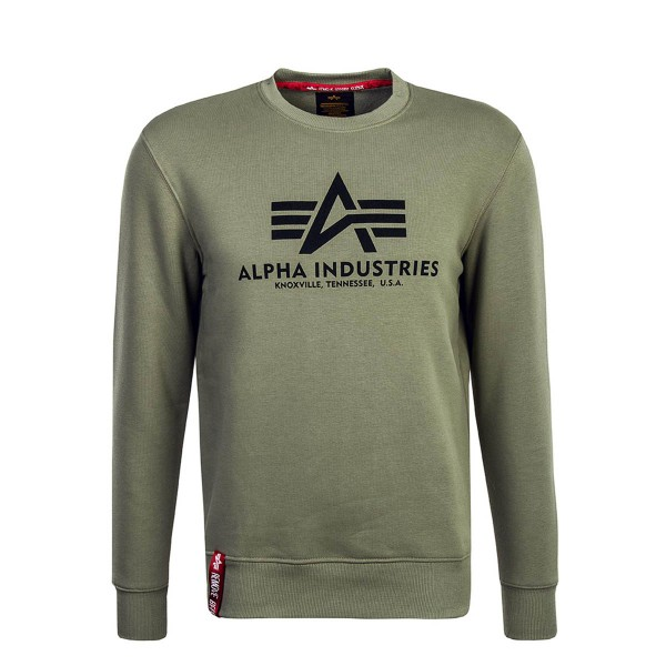 Alpha Sweat Basic Olive Black