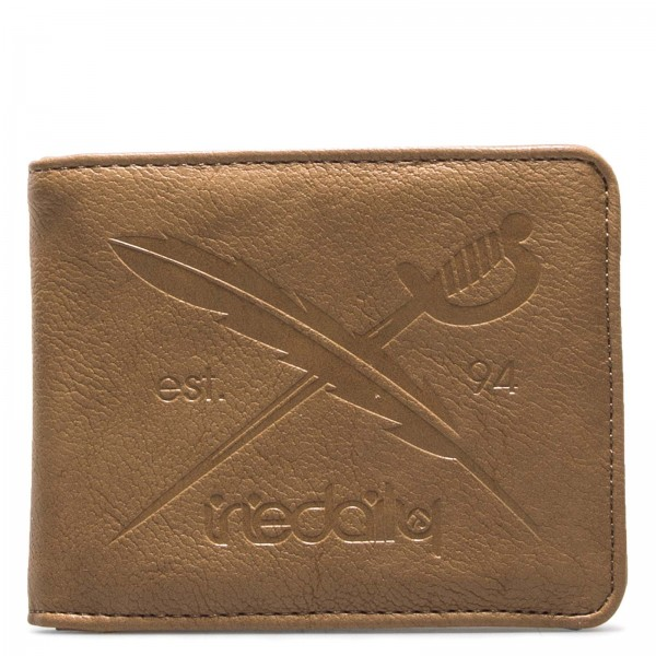 Wallet Flag 2 Punch Brown