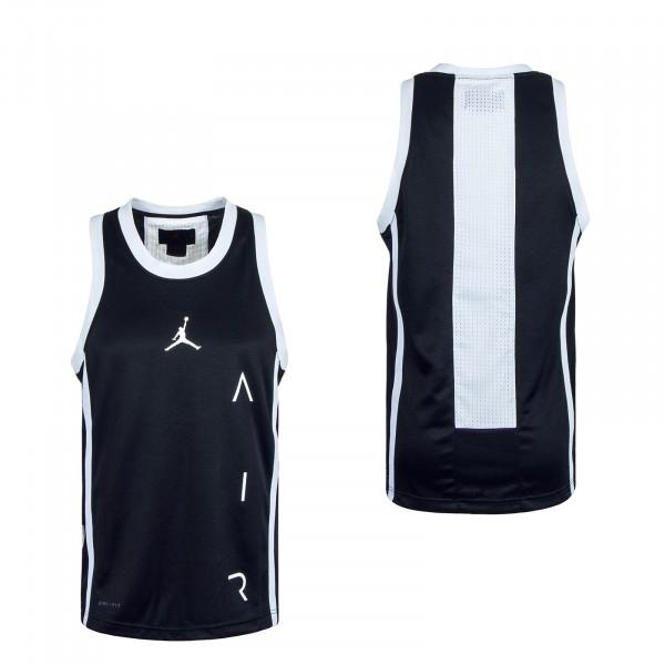 Air Basketball Tank Jersey Black White