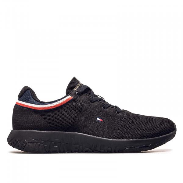 Herren Sneaker - Lightweight Knit Runner Collar 3614 - Black