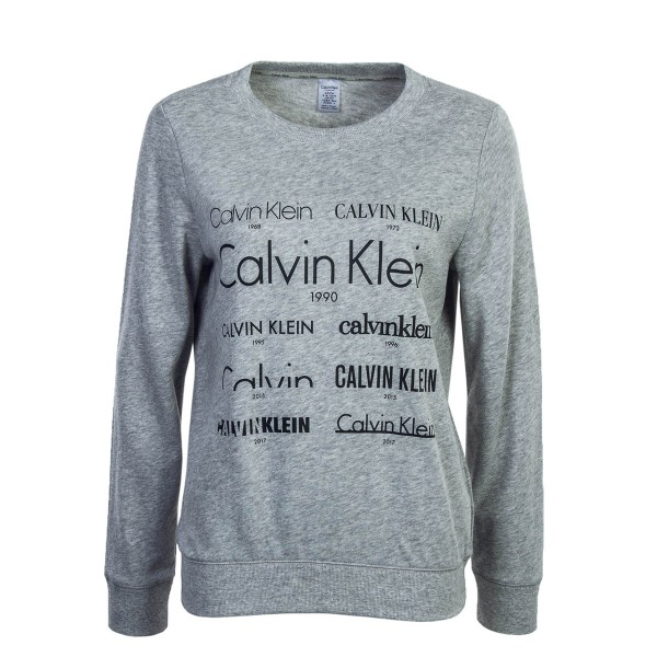 Calvin Klein Wmn Sweat 587 Heather Grey