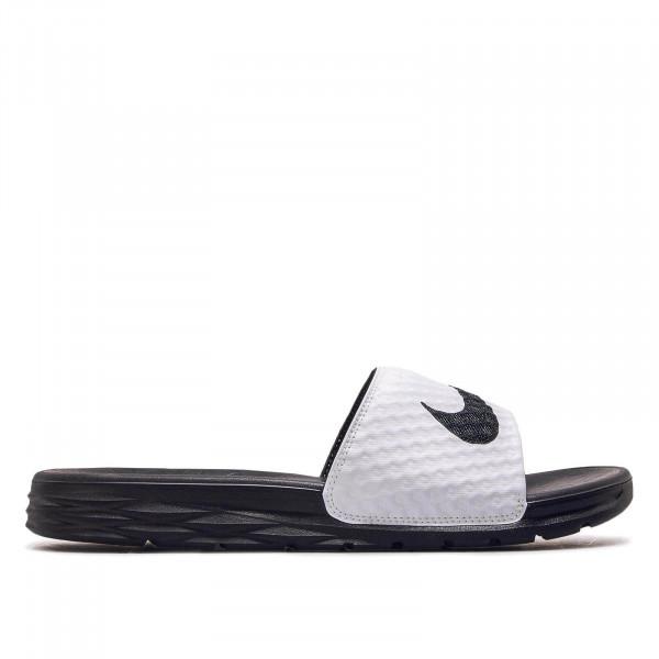 Nike Slide Benassi Solarsoft White Black