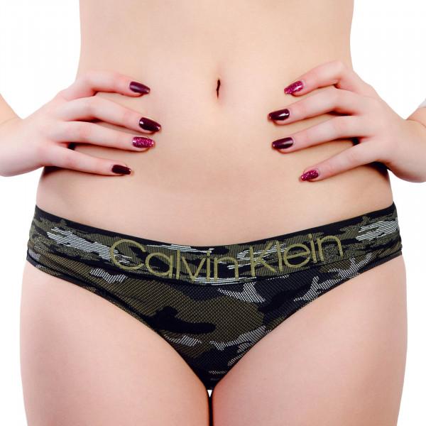 CK Wmn Bikini 4950 Camo Olive