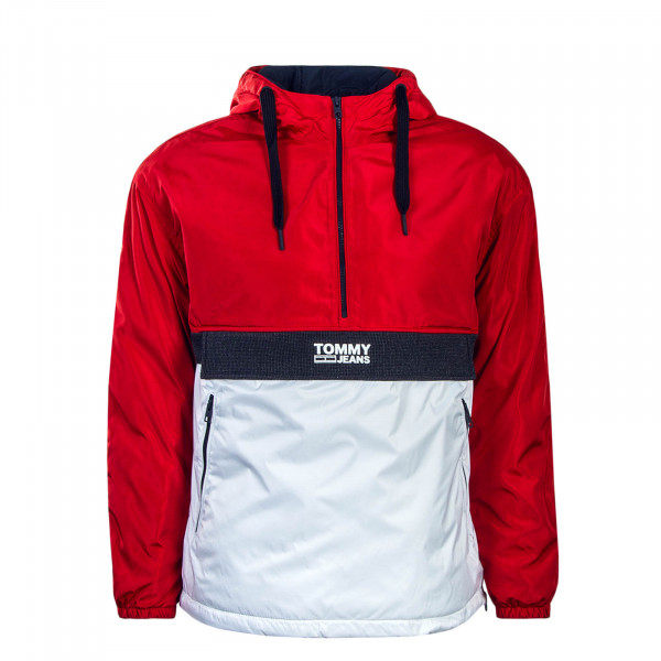 Herren Windrunner TJM Colorblock Popover Red