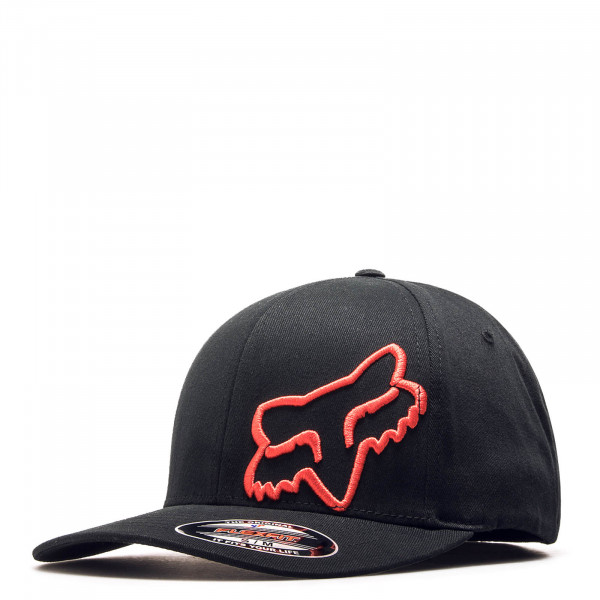 Basecap Flex 45 Black Red