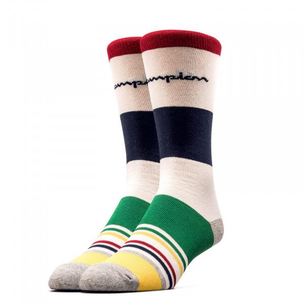 Socken 804601 Multi Beige Blue Red