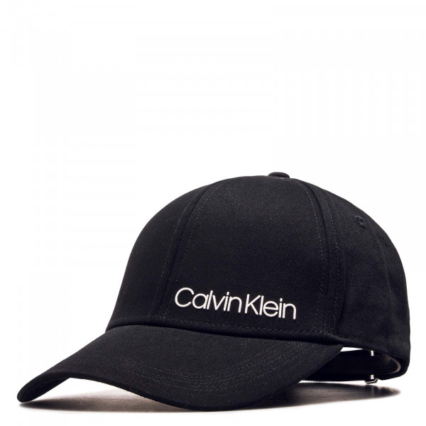 Cap Side Logo Black White