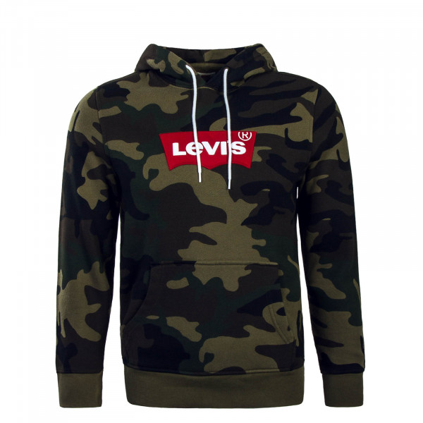 Levis Hoody Modern Olive Camo