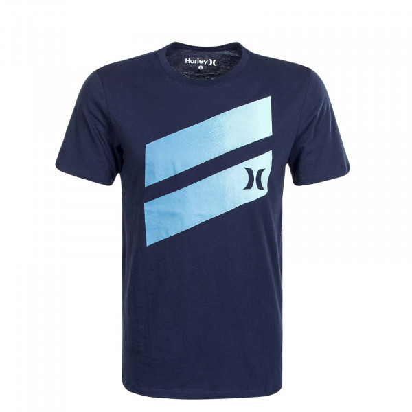 Herren T-Shirt Icon Slash Gradient Navy