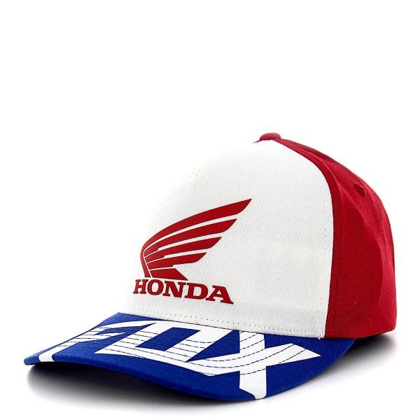 Fox Cap Honda Basic Red White Blue