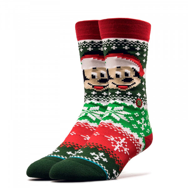 Socken Disney Mickey Claus Multi