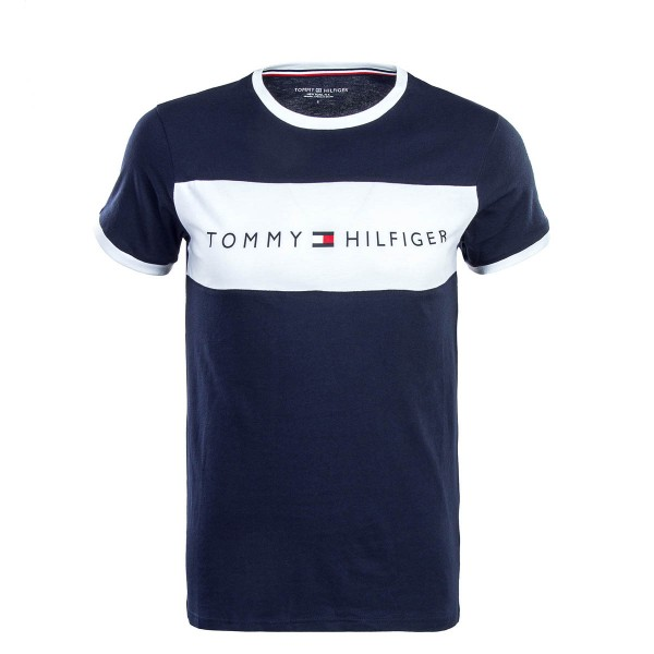 Tommy Underwear TS CN Logo Flag Navy Wht