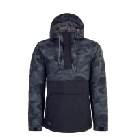 Ragwear Windbreaker Banks Block BlackGre
