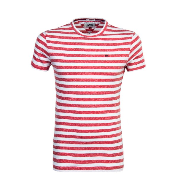Tommy TS TJM Essential Stripe White Red
