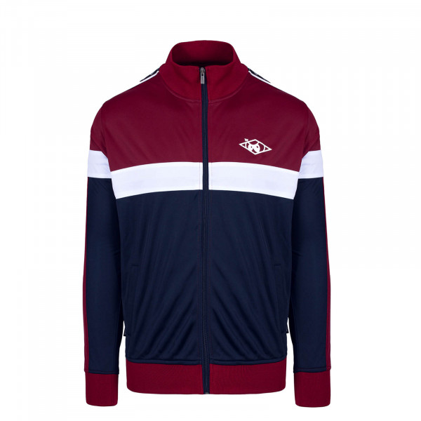 Herren Trainingsjacke Taped Hash TT Burgundy Navy White