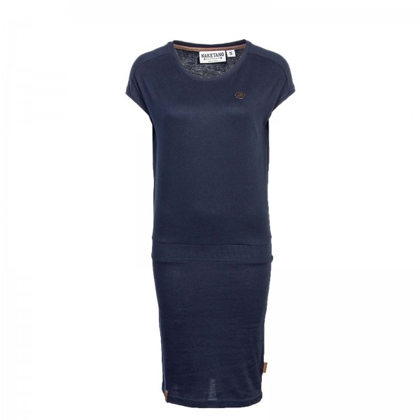Naketano Dress Grüss den Pavian DarkBlue