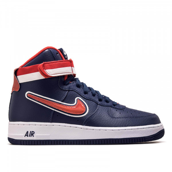 Nike Air Force 1 High Sport Navy Red