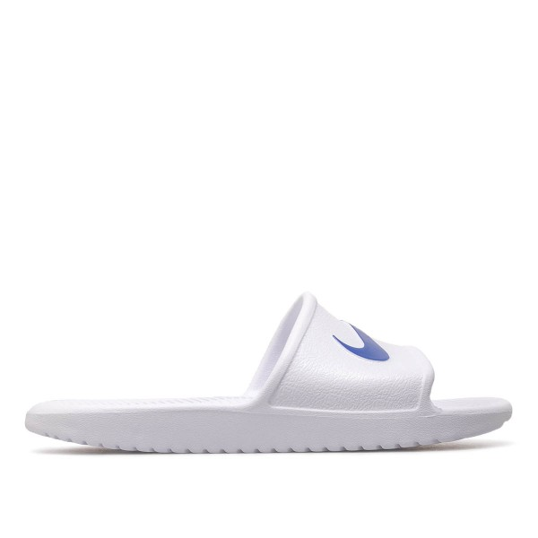 Nike Schlappe Kawa White Blue Moon