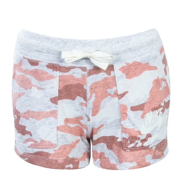Nike Wmn Short NSW Gym Grey Rosa Camo