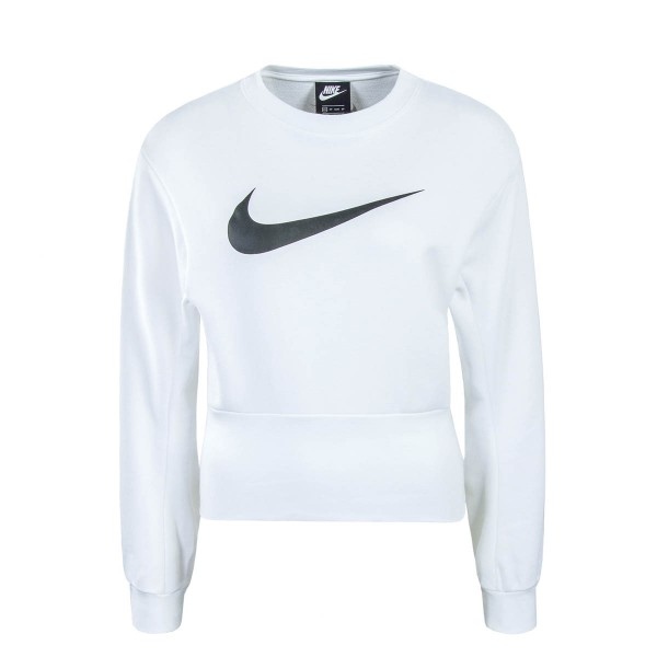 Nike Wmn Sweat Swoosh White Black