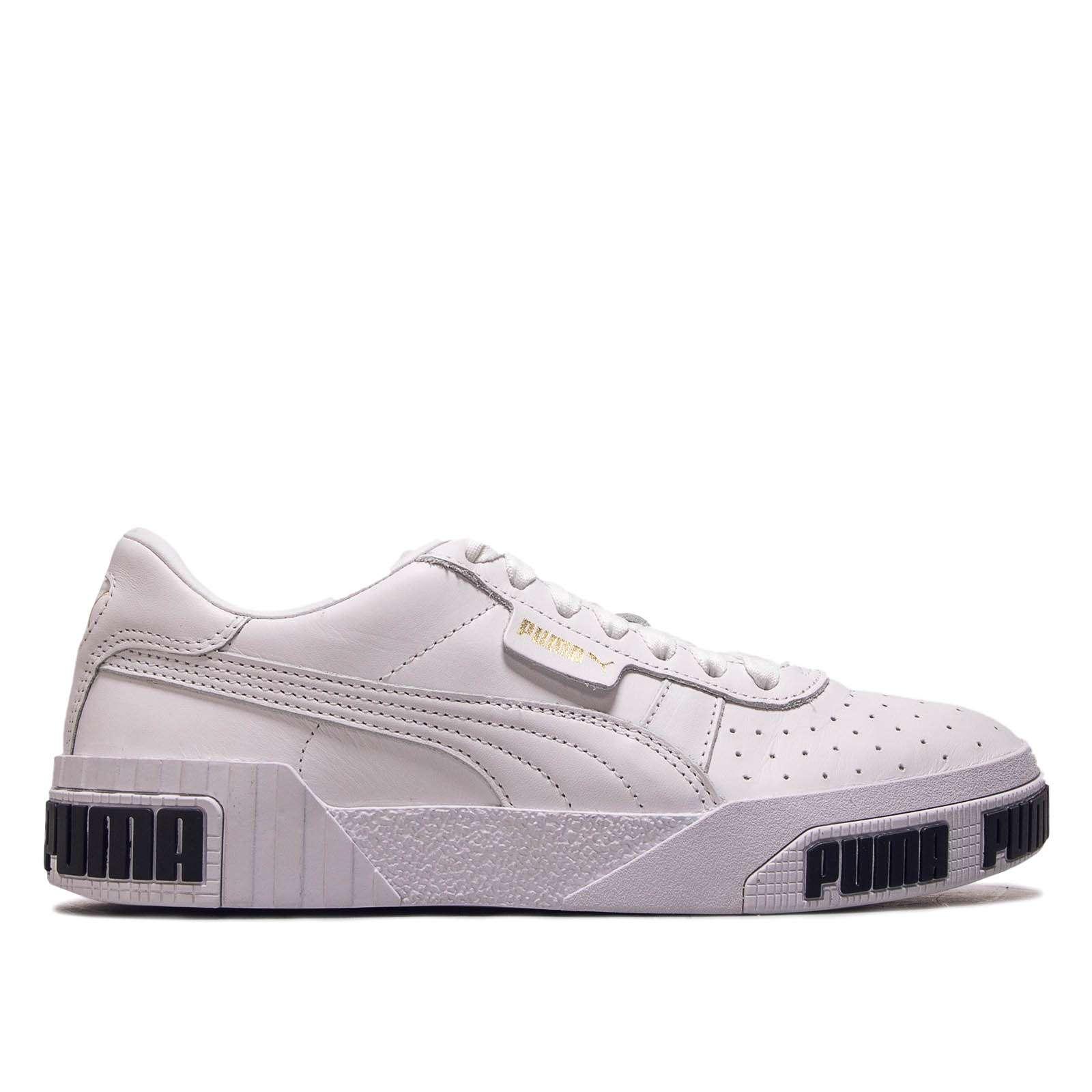 Damen Sneaker Cali Bold White Metallic Gold