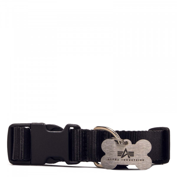 Hundehalsband - Basic Dog Tag Collar - Black