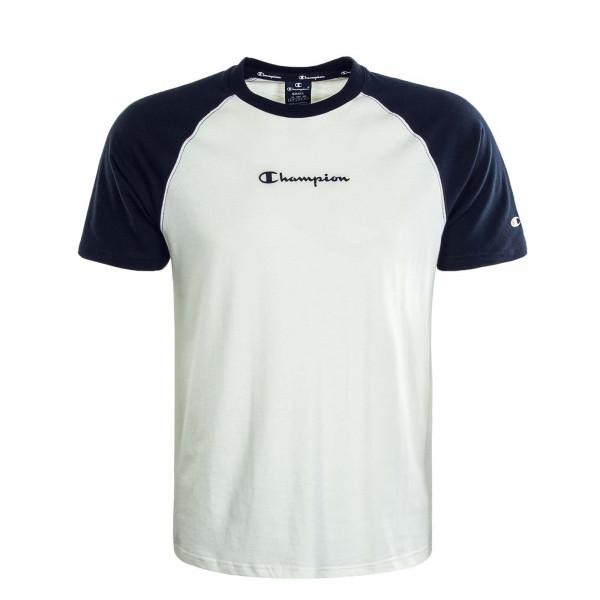 Herren T-Shirt 214763 Off White Navy