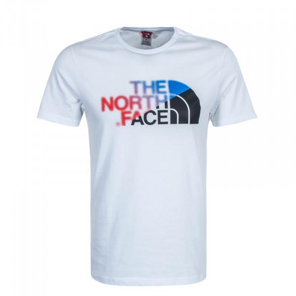Herren T-Shirt GLS BD White Red Blue