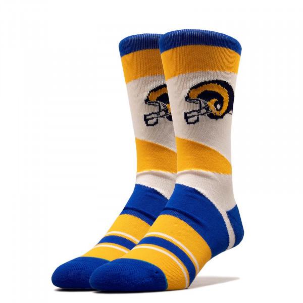 Socken NFL Rams Retro Blue Yellow